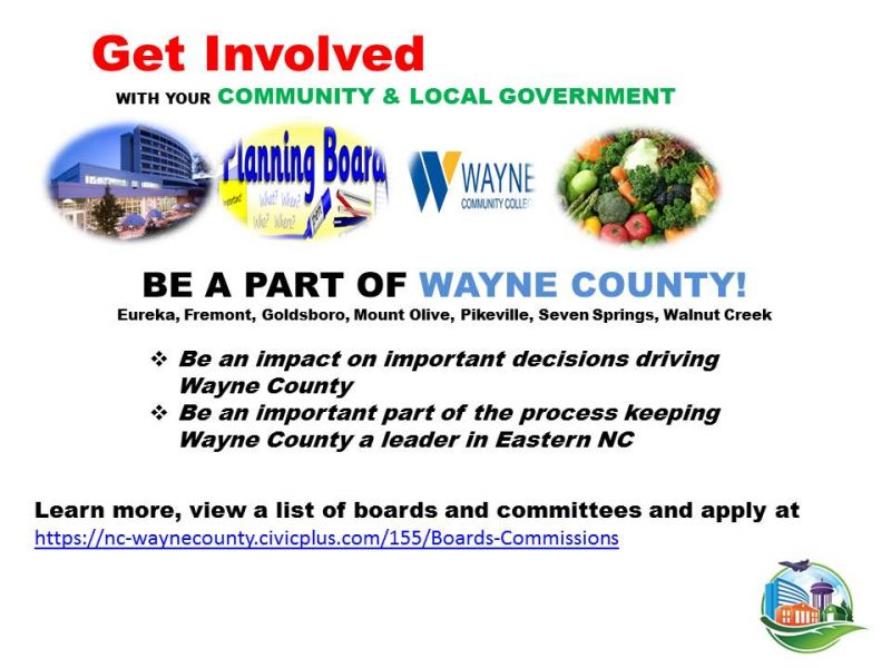 Get Involved Be A Part of Wayne County